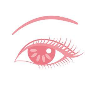 瞳のイラスト